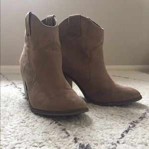 Perfect Tan Booties - Size 9